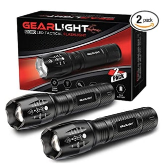 GearLight LED Tactical Flashlight (2-Pack)