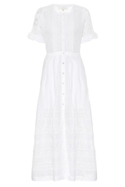 Loveshackfancy Edie Cotton Maxi Dress