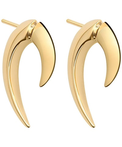 Shaun Leane Gold Plated Vermeil Silver Talon Earrings