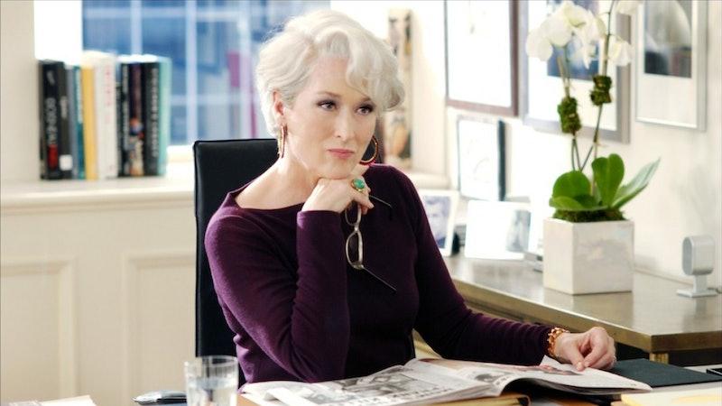 Meryl Streep 'The Devil Wears Prada' Anna Wintour