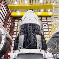 SpaceX Crew Dragon: impressive photos show capsule mounted onto Falcon 9