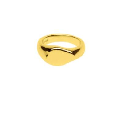 Impact Signet Ring