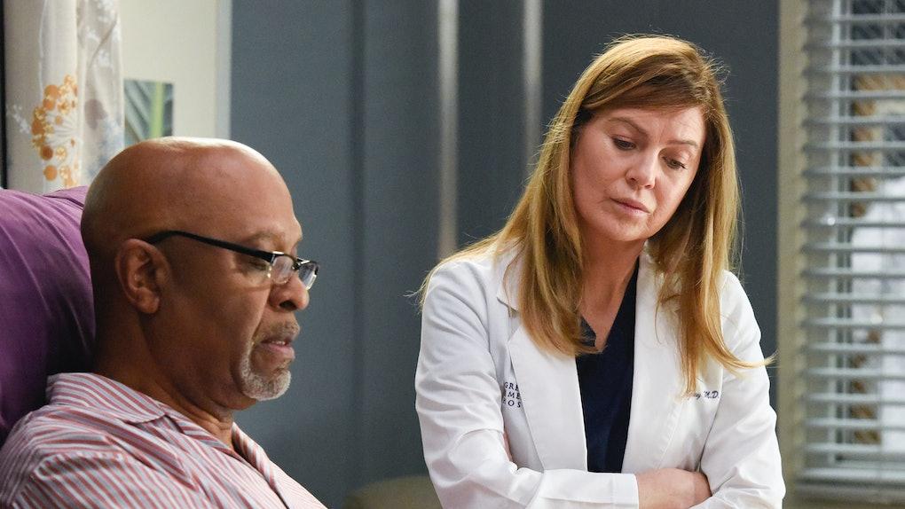 Richard and Meredith on 'Grey's Anatomy'