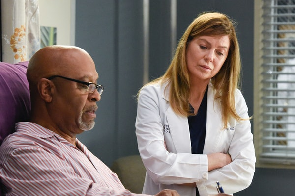 Richard and Meredith on 'Grey's Anatomy'