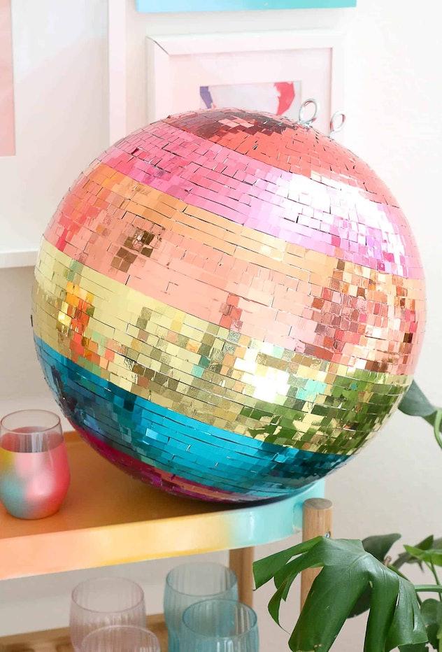 Rainbow Disco Ball