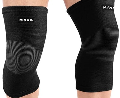 Mava Sports Knee Support Sleeves (2-Pack)