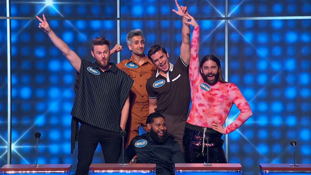 The 'Queer Eye' cast on 'Celebrity Family Feud'