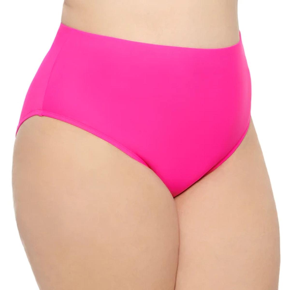 Kohl's Plus Size Mix and Match High-Waisted Bikini Bottoms