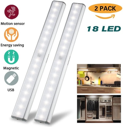 LEPOTEC Under Cabinet Lights (2-Pack)