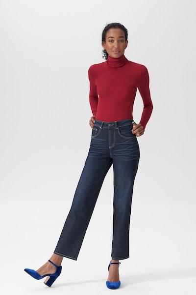 Universal Standard Bae Boyfriend Straight Leg Jeans