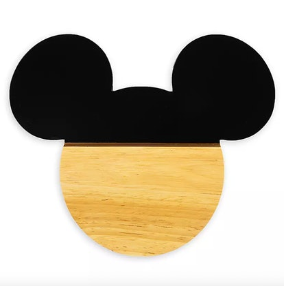 Mickey Mouse Silhouette Cheese Board