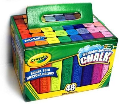Crayola Bright Sidewalk Chalk