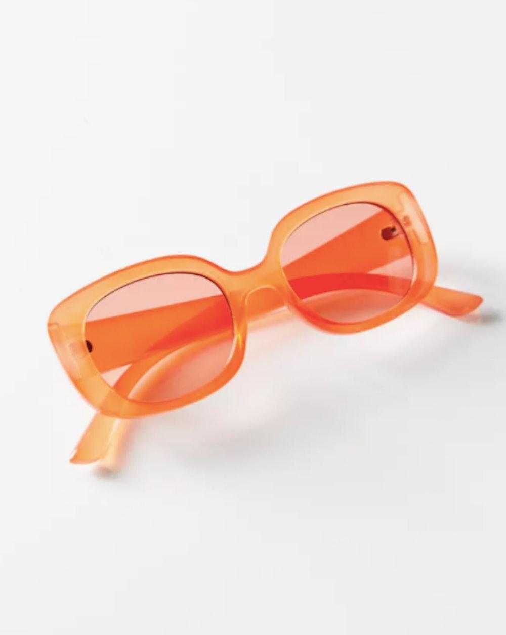 Claro Chunky Rectangle Sunglasses
