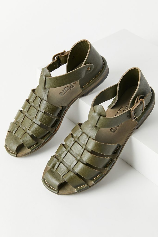 Leather Fisherman Sandal