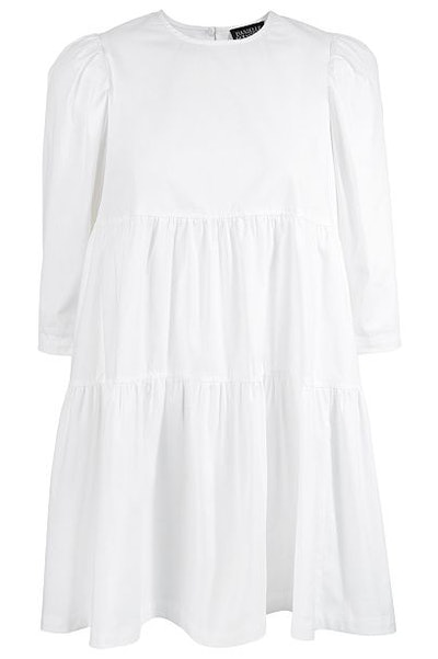 Danielle Bernstein Baby Doll Mini Dress