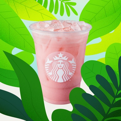 Starbucks new iced guava passionfruit drink is an Instagram-worthy pink.