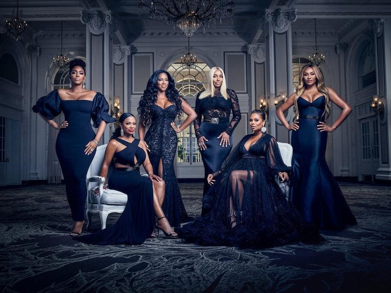 'RHOA' cast members Porsha Williams, Kandi Burruss Tucker, Kenya Moore, NeNe Leakes, Eva Marcille, a...