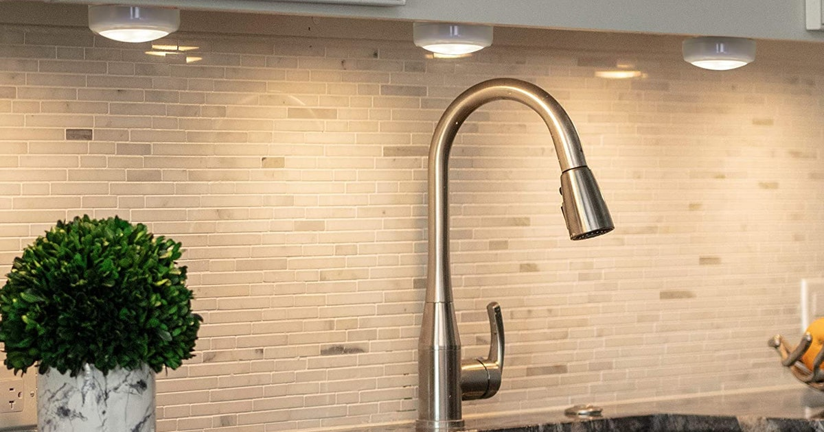 Upgrade Your Kitchen With Under Cabinet Lighting That's Affordable & Easy To Install