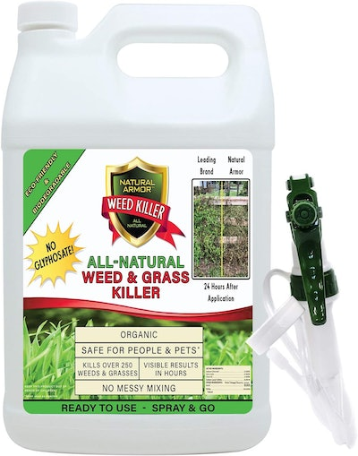 Natural Armor Weed and Grass Killer (128 Ounces)