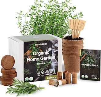Spade To Fork Indoor Herb Garden Starter Kit