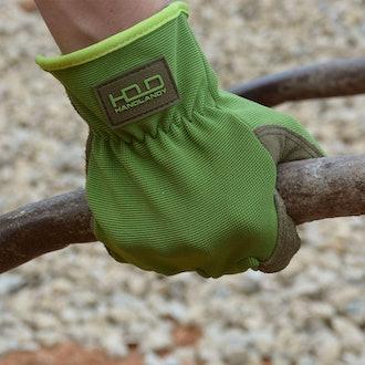 HANDLANDY  Leather Gardening Gloves