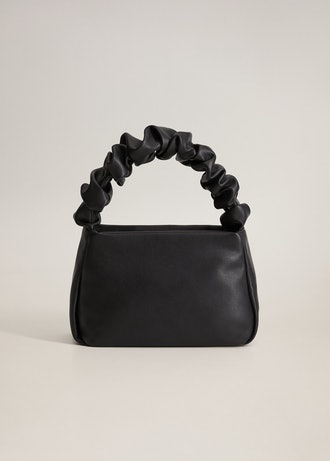 Pleated Strap Bag