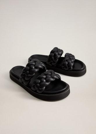 Platform Braid Sandal