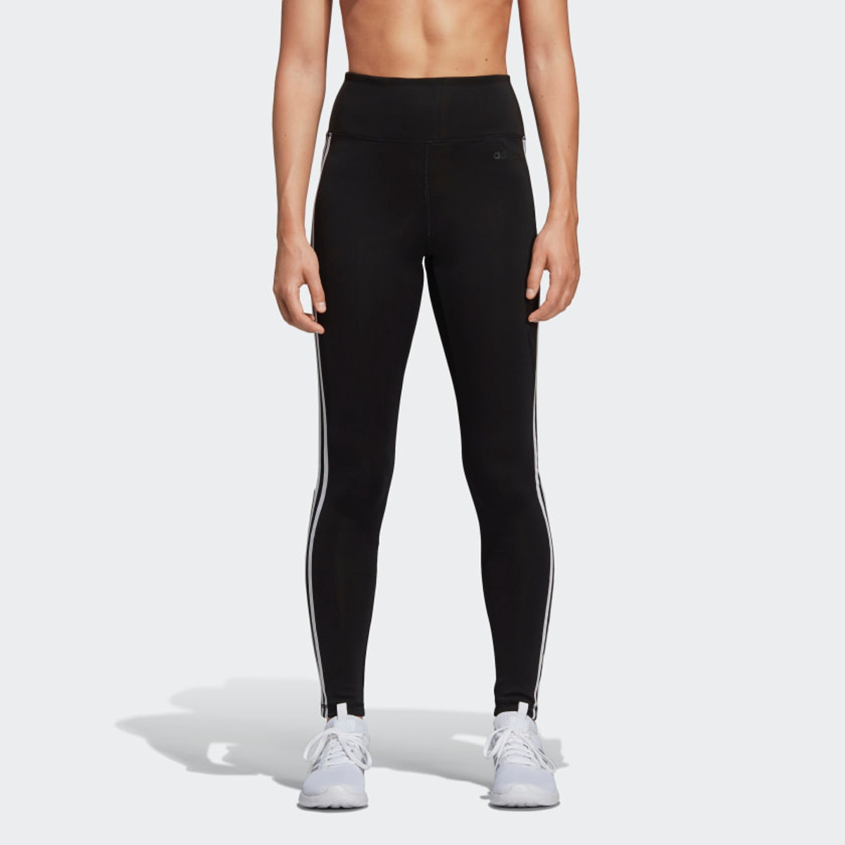 Designed 2 Move 3-Stripes High-Rise Long Tights