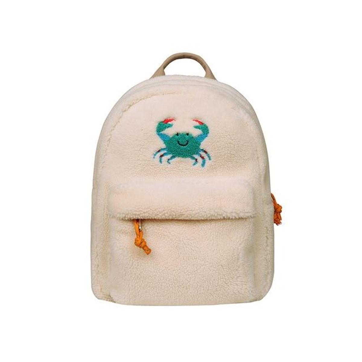 The Crabby Fleece Backpack
