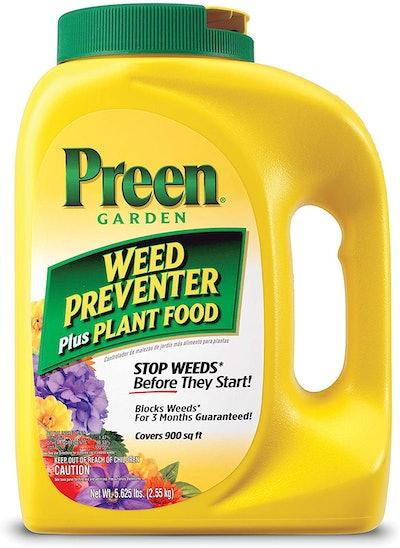 Preen Garden Weed Preventer Plus Plant Food (90 Ounces)