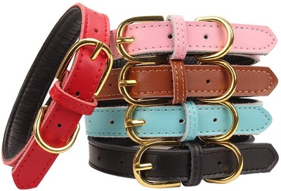Aolove Leather Pet Collar