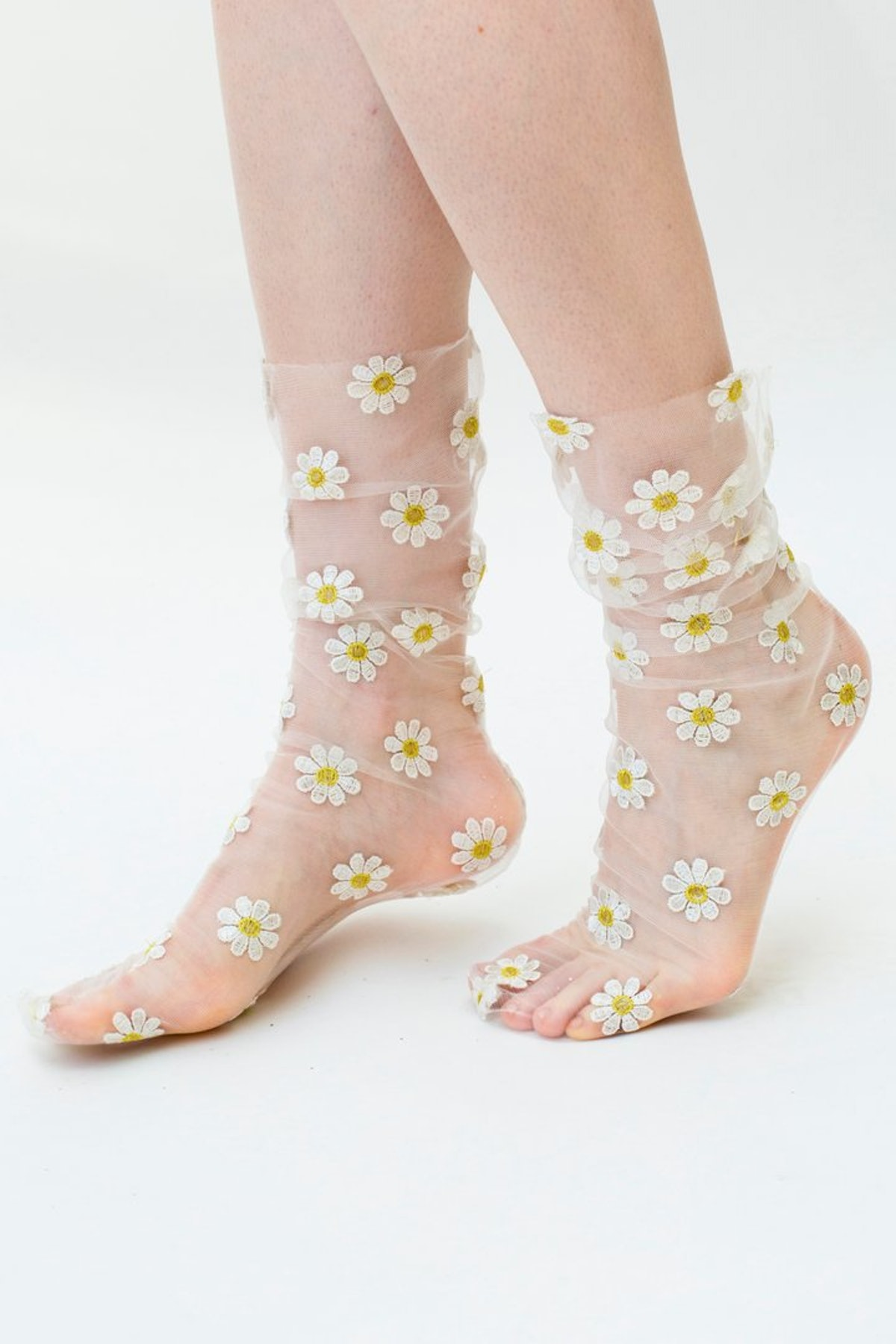 Daisy Tulle socks