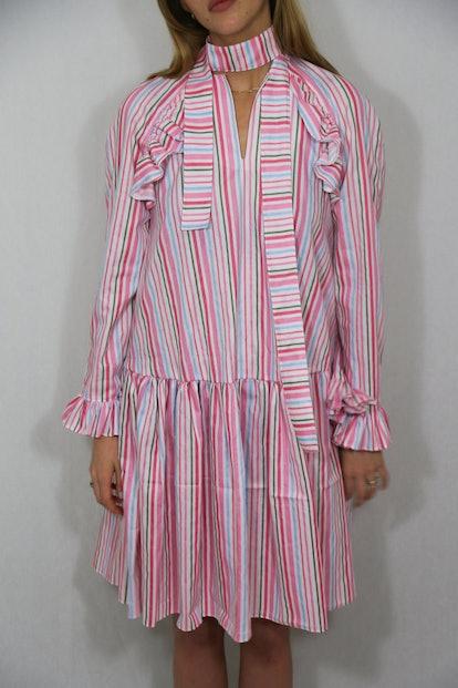 Ice cream girl stripes