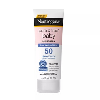 Pure & Free Baby Mineral Sunscreen With SPF 50 Fragrance Free