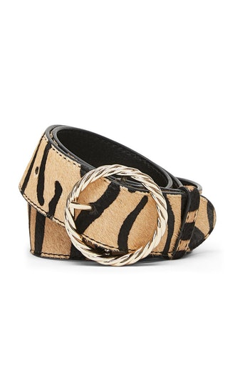 Leo Twisted Leather Belt
