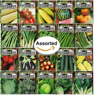 Black Duck Brand Premium Variety Vegetable Seeds