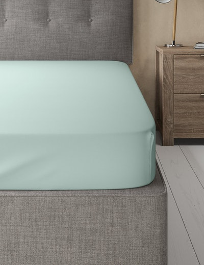 Comfortably Cool Fitted Double Sheet
