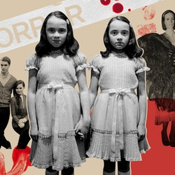 'The Shining' twins, Bette and Dot from 'American Horror Story: Freak Show,' and Cheryl and Jason from 'Riverdale.'