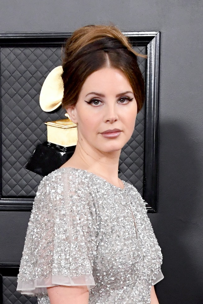 Lana Del Rey attends the 62nd Annual GRAMMY Awards at Staples Center on January 26, 2020 in Los Ange...