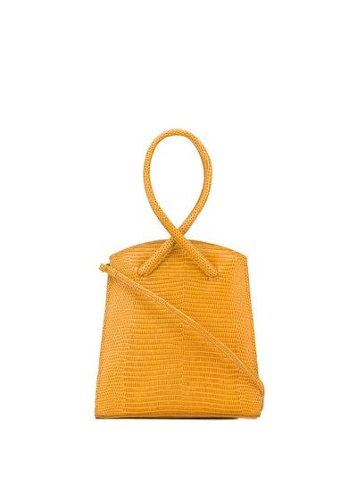 Little Liffner Twisted Wristlet Tote Bag