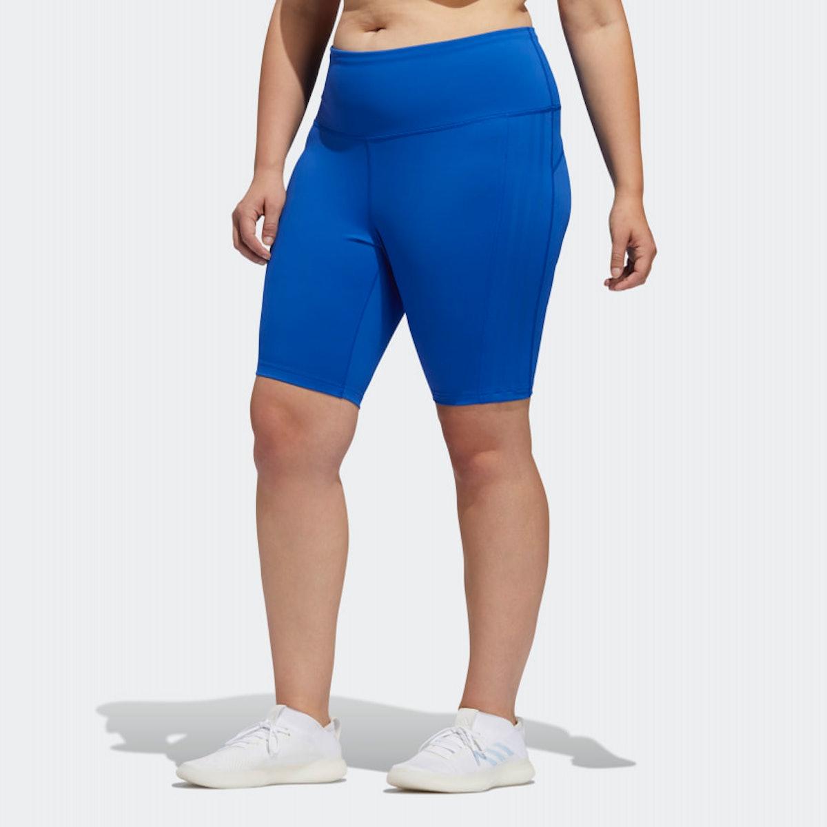 Adidas x Universal Standard 3-Stripes Short Stripes (Plus Size)