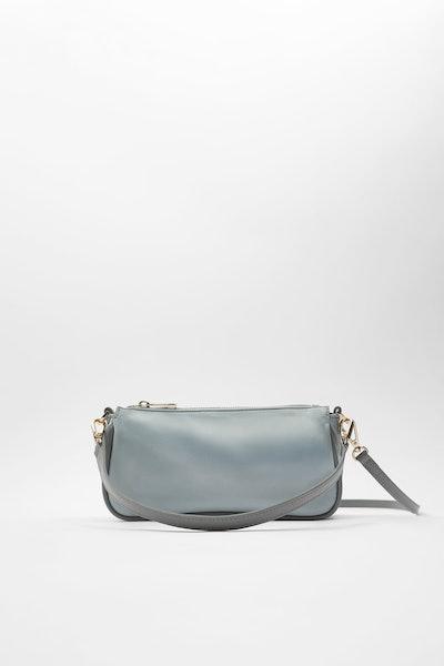 Zara Glossy Shoulder Bag