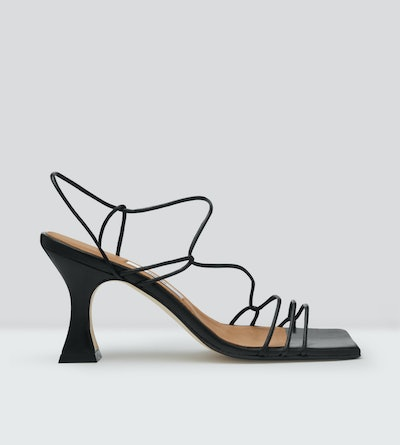 Sally Nappa Leather Sandals