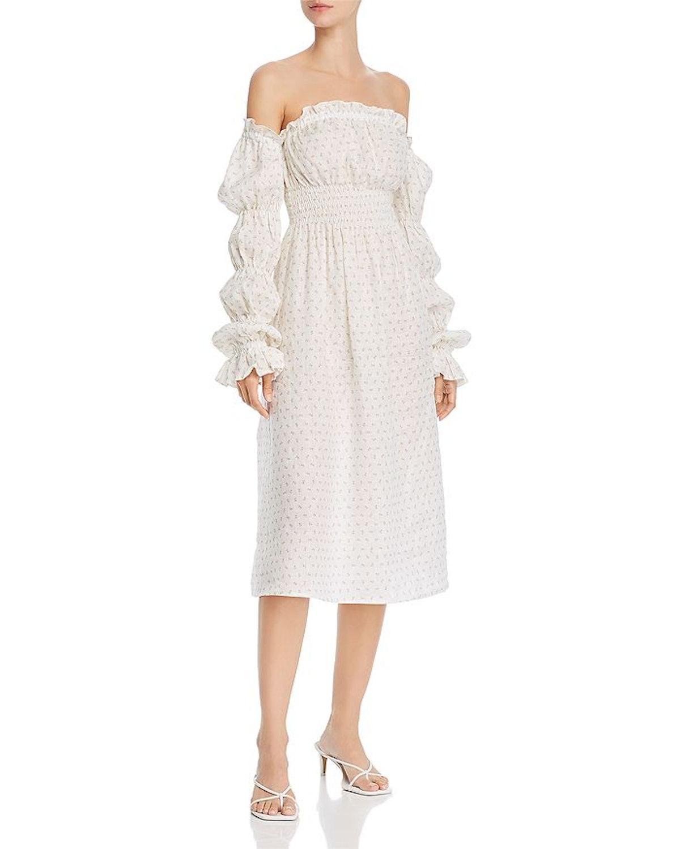 Michelin Cold-Shoulder Dress