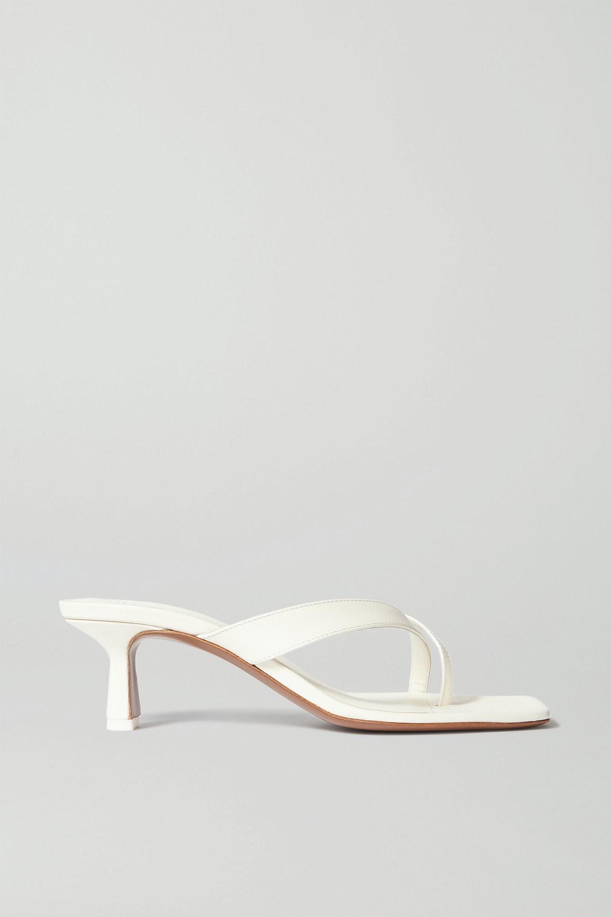Florae Leather Sandals