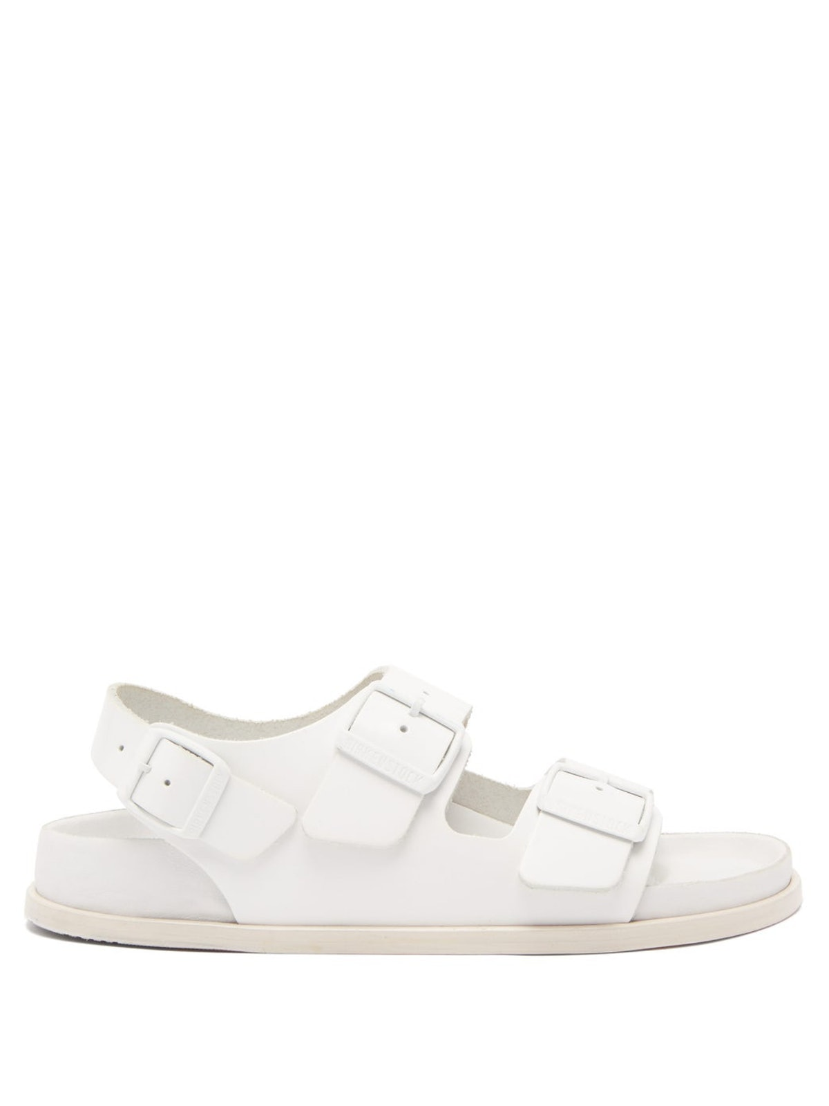 Milano Ankle-Strap Leather Sandals