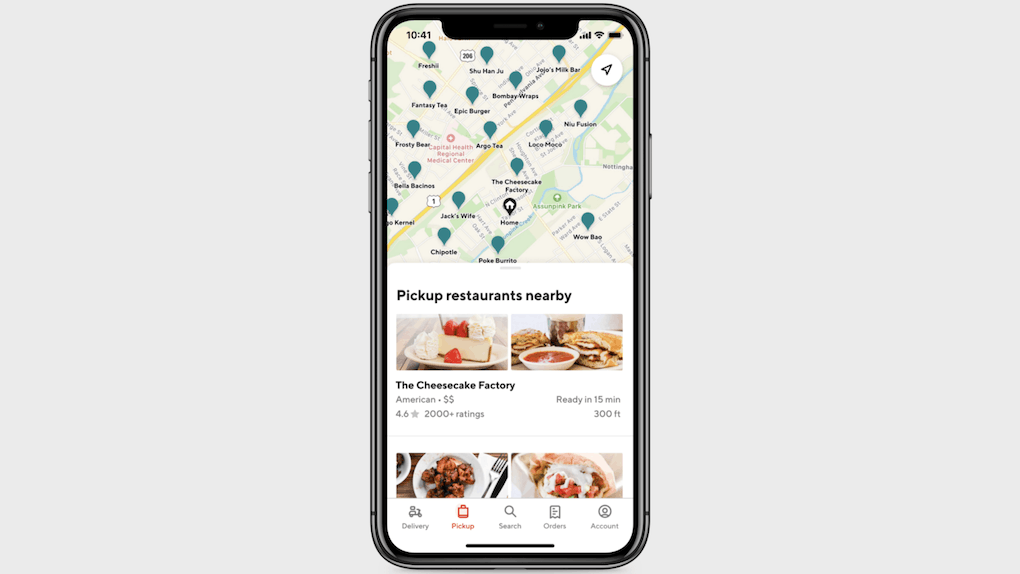 DoorDash's new pickup feature offers customers less waiting time.