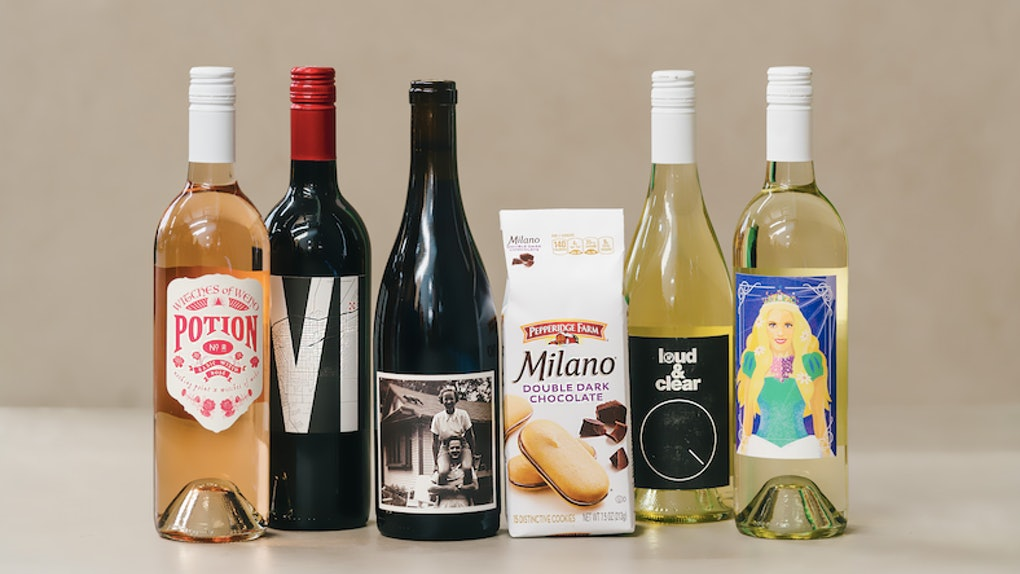 This Milano Cookie and Nocking Point Wine Happier Hour Box is the perfect National Wine Day celebration.