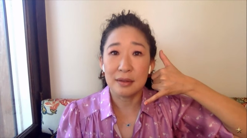 Sandra Oh recreated her iconic Princess Diaries scene