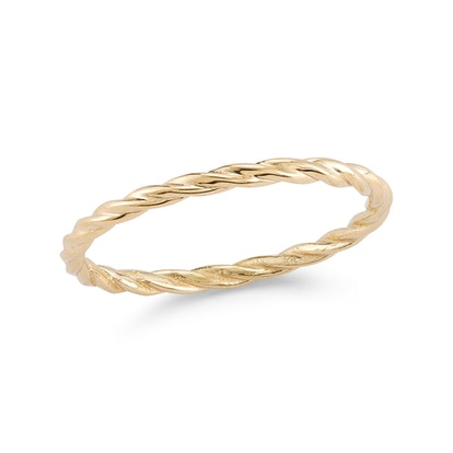 Gold Cable Ring